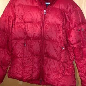Ralph Lauren Red Down Coat